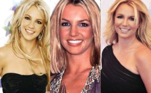 britney spears plastic surgery before and after photos