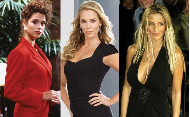 elizabeth berkley plastic surgery before and after photos 2017