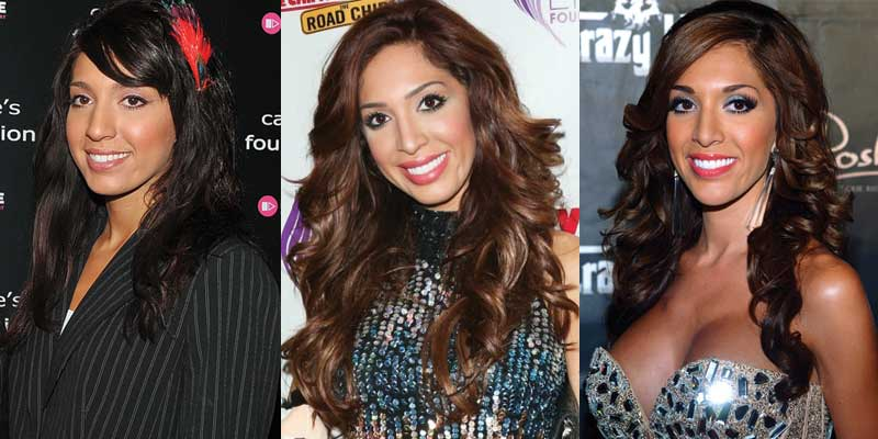 farrah abraham plastic surgery before and after photos 2017