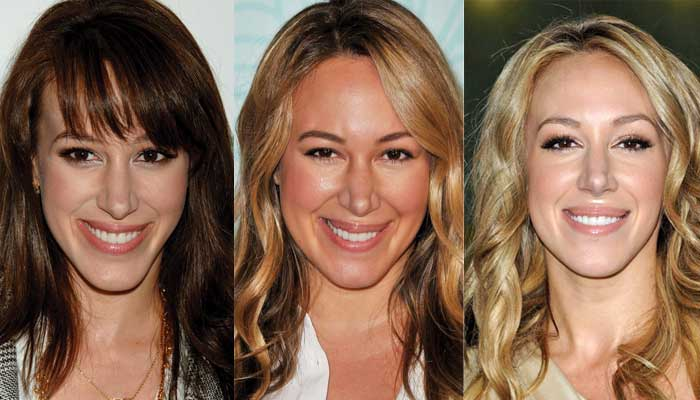 haylie duff plastic surgery before and after photos 2017