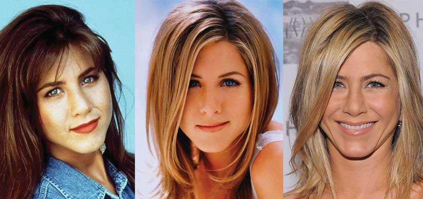 jennifer aniston plastic surgery before and after photos 2021
