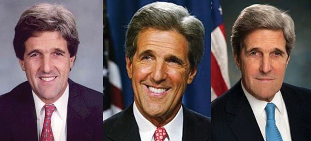 john kerry plastic surgery before and after 2019