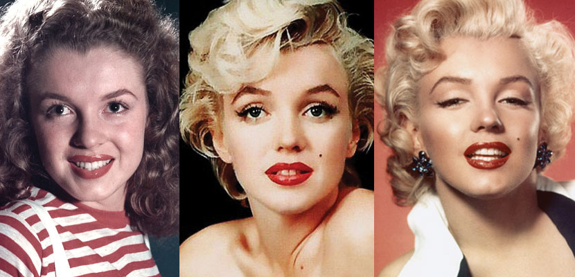 marilyn monroe plastic surgery before and after