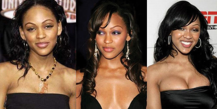 meagan good before and after plastic surgery 2017