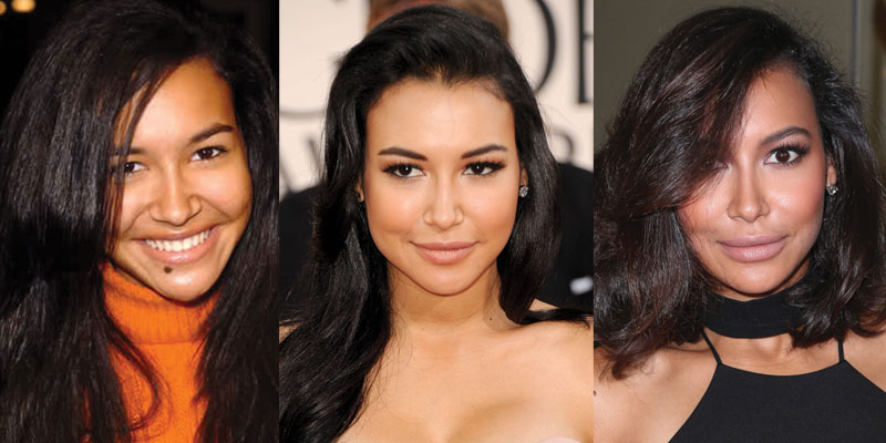 naya rivera plastic surgery before and after 2019