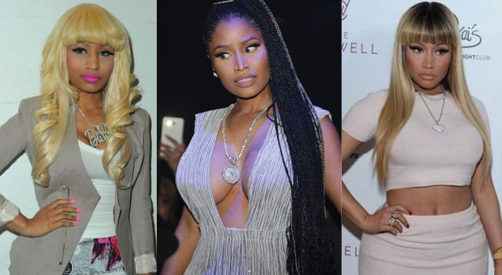 nicki minaj before and after plastic surgery 2019