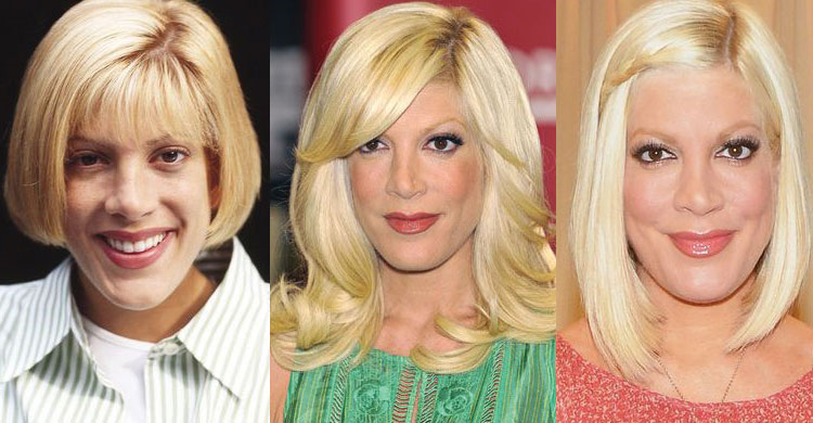 tori spelling plastic surgery before and after 2019